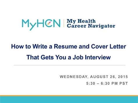 How to write a cover letter for a resume - Quora